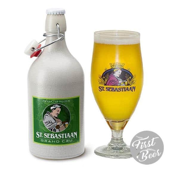 Bia Sứ St. Sebastiaan Grand Cru 7,5% – Chai 500ml – Thùng 6 Chai