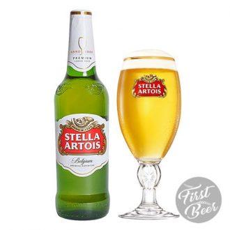 Bia Stella Artois 5% – Chai 330ml – Thùng 24 Chai