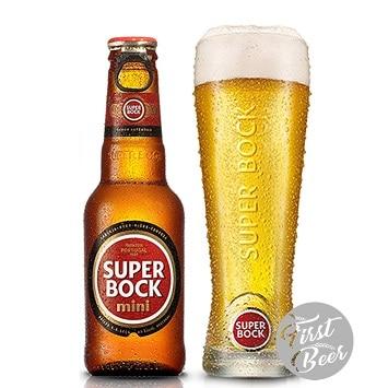Bia Super Bock Mini 5.2% – Chai 250ml – Thùng 24 Chai