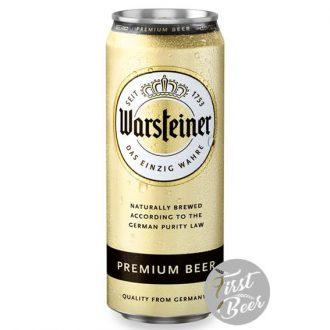 Bia Warsteiner Premium 4.9% – Lon 500ml – Thùng 24 Lon