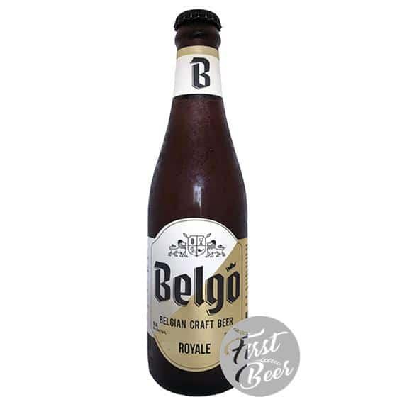 Bia thủ công Bỉ Belgo Royal 7,6% - Chai 330ml - Thùng 24 chai