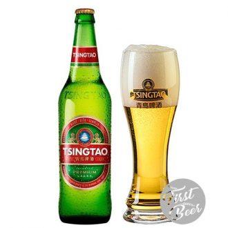 Bia Tsingtao (Thanh Đảo) 5.0% – Chai 640ml – Thùng 12 Chai