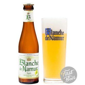 Bia táo Blanche de Namur 3,1%  – Chai 250ml – Thùng 24 Chai