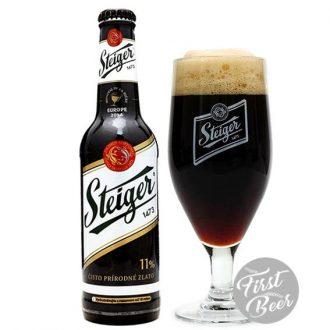 Bia Steiger 1473 Dark 4,5% – Chai 330ml – Thùng 24 Chai