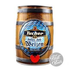 Bia Tucher Helles Hefe Weizen 5.2% – Bom 5l – Thùng 2 Bom
