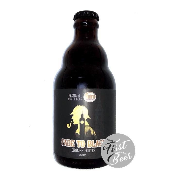 Bia Thơm Brewery Fade To Black 6.69% – Chai 330ml – Thùng 20 Chai