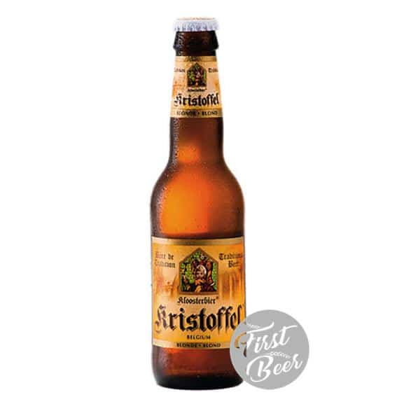 Bia Kristoffel Blond 6% - Chai 330ml - Thùng 24 chai