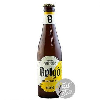 Bia thủ công Bỉ Belgo Blonde 5.9% - Chai 330ml - Thùng 24 chai