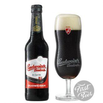 Bia Budweiser Budvar Dark 4,7% – Chai 330ml – Thùng 24 Chai
