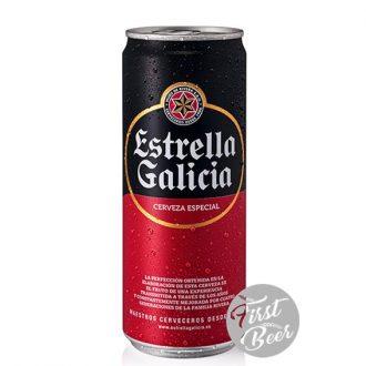 Bia Estrella Galicia 5.5% – Lon 330ml – Thùng 24 Lon