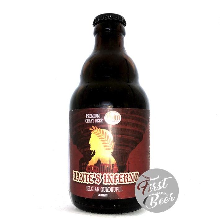 Bia Thơm Brewery Dante's Inferno 12.76% – Chai 330ml – Thùng 20 Chai