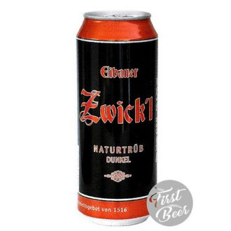 Bia Eibauer Zwick'l Dunkel 6,7% – Lon 500ml – Thùng 24 Lon