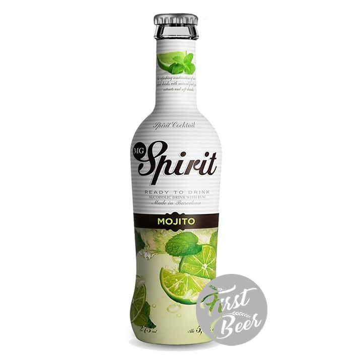 Rượu Trái Cây MG Spirit Mojito 5,5% – Chai 275ml – Thùng 24 Chai