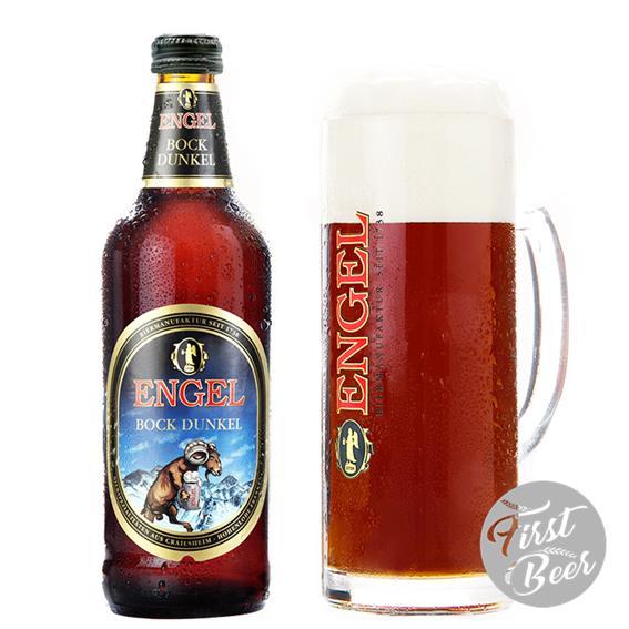 Bia Engel Bock Dunkel 7.2% – Chai 500ml – Thùng 15 Chai