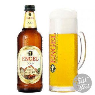 Bia Engel Gold 5.4% – Chai 500ml – Thùng 15 Chai