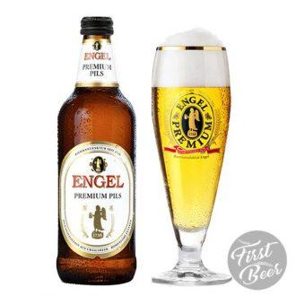 Bia Engel Premium Pils 5.4% – Chai 500ml – Thùng 15 Chai