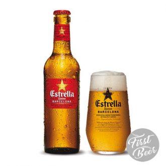 Bia Estrella Damm 4.6% – Chai 330ml – Thùng 24 Chai