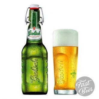 Bia Grolsch 5% – Chai 450ml – Thùng 20 Chai