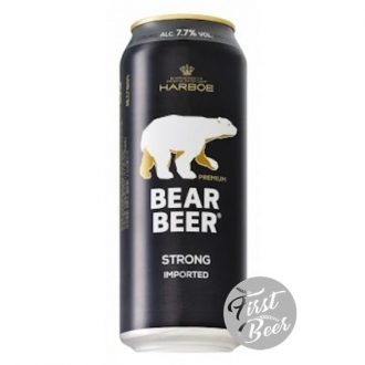 Bia Gấu Bear Beer Strong Lager 7,7% – Lon 500ml – Thùng 24 Lon