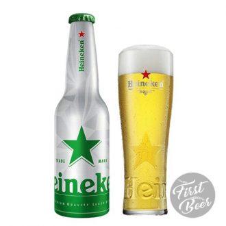Bia Heineken Hà Lan Chai Nhôm 5% – Chai 330ml – Thùng 24 Chai