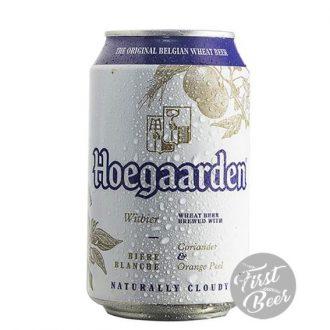 Bia Hoegaarden 4,9% – Lon 330ml – Thùng 24 Lon