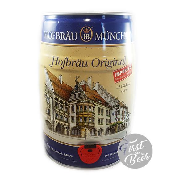 Bia Hofbrau Original 5.1% – Bom 5l – Thùng 2 Bom