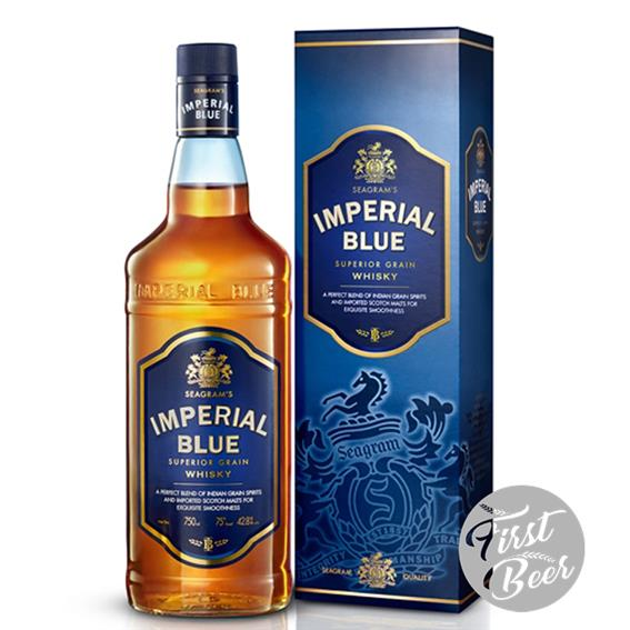 Rượu Imperial Blue - Super Grain Whisky - Chai 700ml