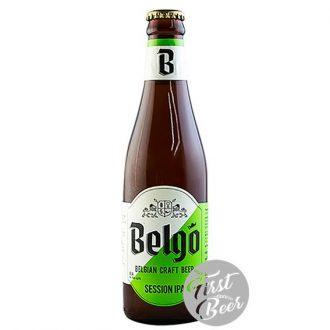 Bia thủ công Bỉ Belgo Session IPA 4.9% - Chai 330ml - Thùng 24 chai