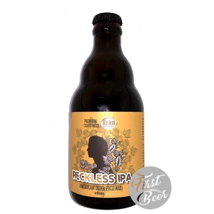 Bia Thơm Brewery Reckless IPA 8.6% – Chai 330ml – Thùng 20 Chai