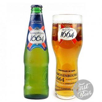 Bia Kronenbourg 1664 5.5% – Chai 250ml – Thùng 20 Chai