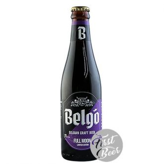 Bia thủ công Bỉ Belgo Full Moon (Limited) 10% - Chai 330ml - Thùng 24 chai
