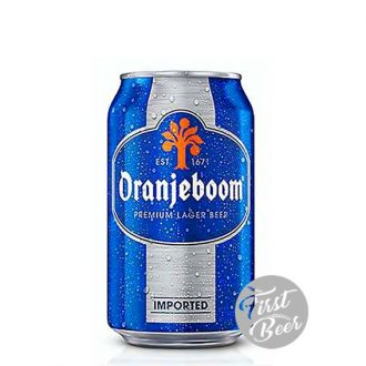 Bia Oranjeboom Lager Imported 5% – Lon 330ml – Thùng 24 Lon