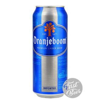 Bia Oranjeboom Lager Imported 5% – Lon 500ml – Thùng 24 Lon