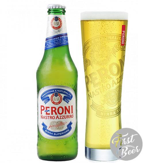Bia Peroni 5,1% – Chai 330ml – Thùng 24 Chai
