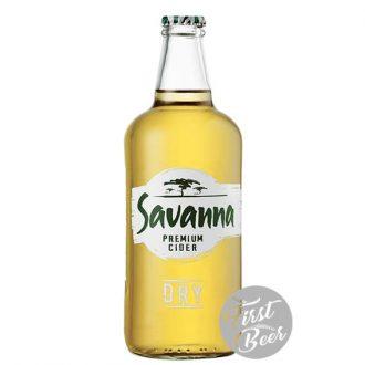 Bia Trái Cây Savanna Cider Hương Táo - 5.0% - Chai 330ml - Thùng 24 Chai