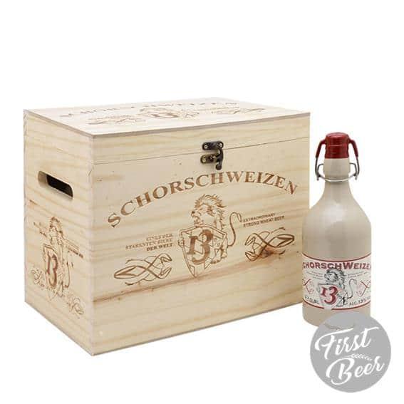 Hộp quà 6 chai Schorsch Weizen 13%- chai 500ml