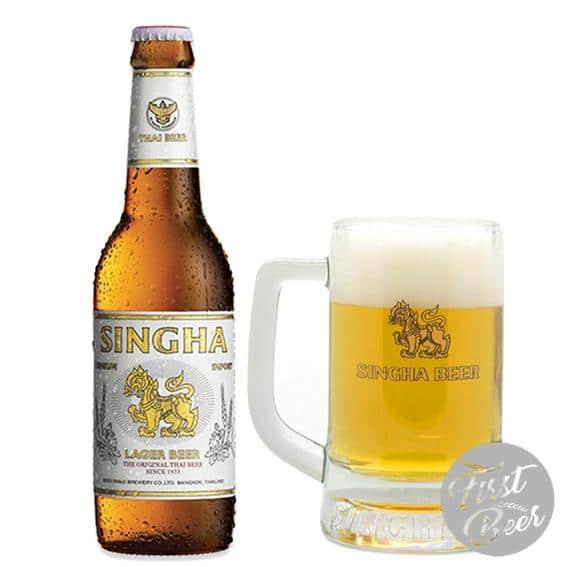Bia Singha 5% – Chai 330ml – Thùng 24 Chai