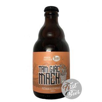 Bia Thơm Brewery Tam Giác Mạch 6% – Chai 330ml – Thùng 20 Chai