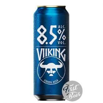 Bia Viiking Strong 8.5% – Lon 500ml – Thùng 24 Lon