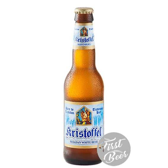 Bia Kristoffel White 5% - Chai 330ml - Thùng 24 chai