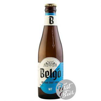 Bia thủ công Bỉ Belgo Wit 4.8% - Chai 330ml - Thùng 24 chai