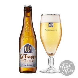 Bia La Trappe Witte 5.5% – Chai 330ml – Thùng 24 Chai
