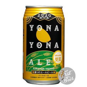 Bia Yona Yona Ale 5.5% – Lon 350ml – Thùng 24 Lon