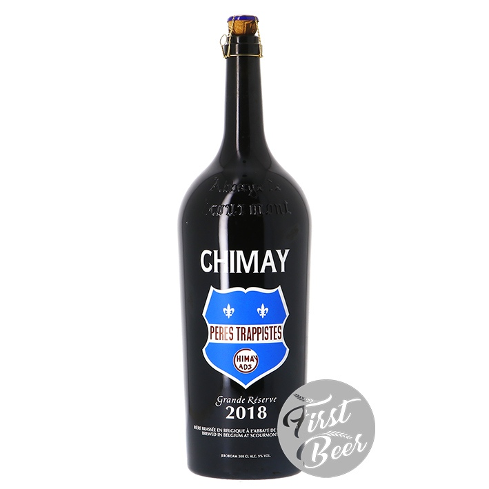 Bia Chimay Grand Reserver 9% – Chai 1.5l