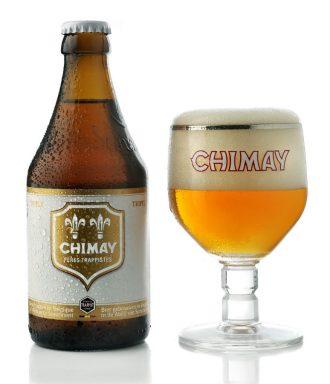 Bia Chimay Trắng 8% – Chai 330ml – Thùng 12 Chai