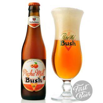Bia Bush Peche Mel 8.5% – Chai 330ml – Thùng 24 Chai