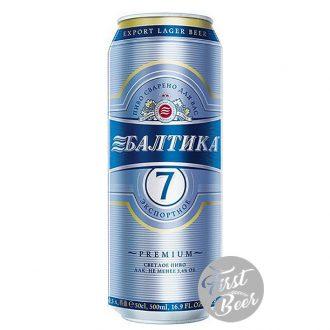 Bia Baltika 7 5% – Lon 450ml – Thùng 24 Lon