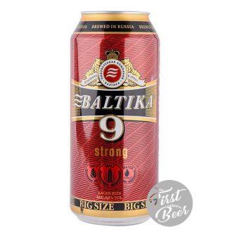 Bia Baltika 9 8% – Lon 900ml – Thùng 12 Lon
