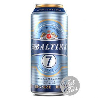 Bia Baltika 7 5% – Lon 900ml – Thùng 12 Lon