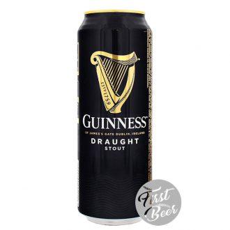 Bia Guinness Draught Stout 4.1% – Lon 440ml – Thùng 24 Lon